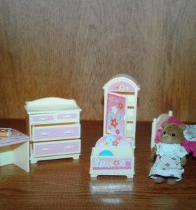 Sylvanian Families Детская комната девочки