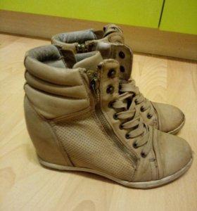 Сникерсы-ботиночки р 36-37