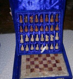 Шахматы из натурального камня ОНИКС