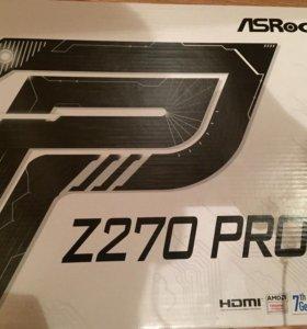 ASRock z270 PRO 4