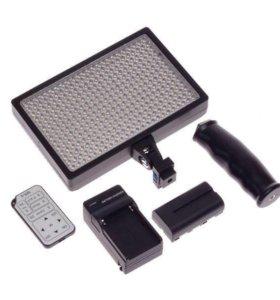 Накамерный свет LED- 336a с пультом управления