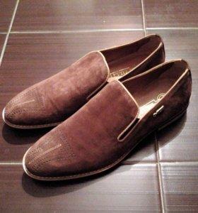 Туфли ZILLI (замшевые)