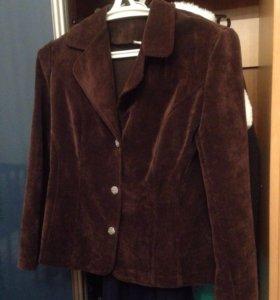 Пиджак вельветовый очень красивый