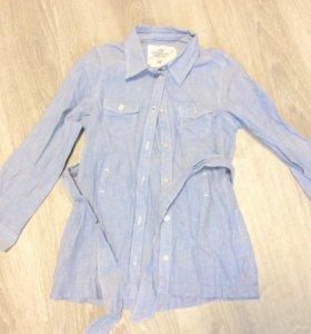 Рубашка удлиненная на девочку H&M98-104