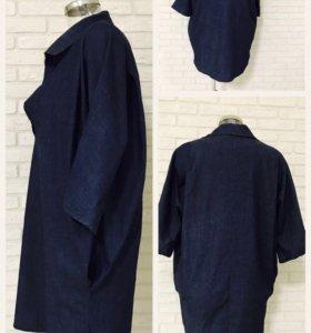 Джинсовое платье б/у