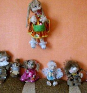 Куклы обереги ручная работа