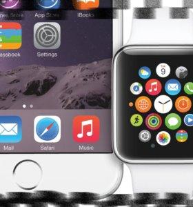 smart watch Умные часы -телефон с SIM. .