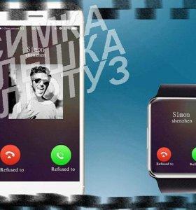 часы-телефон Smart Watch GT-08 По Москве