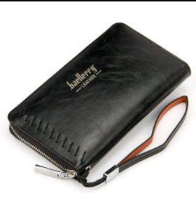 Портмоне - клатч Baellerry Leather. В наличии