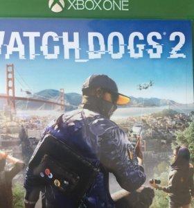 Диск на Xbox One Watch Dogs 2