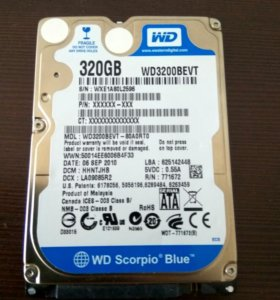 Жесткий диск hdd 320 gb