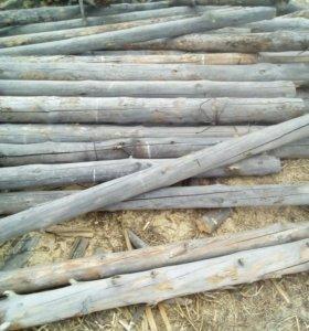 Столбики деревянные