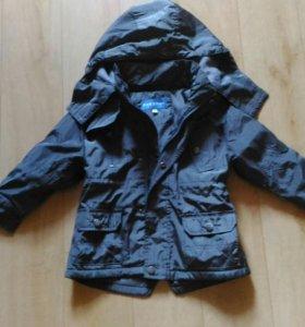 Стильная куртка на флисе весна осень