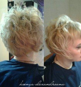 Прически,укладки,стрижки,полировка волос