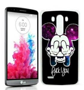 Бампер на LG G3