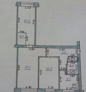 Продаю квартиру 3-х комнатную
