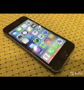 СРОЧНО!!Продам iPhone 5s space grey
