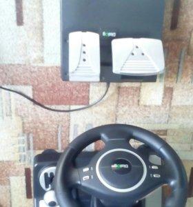 Руль для компьютера и PS3
