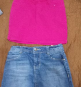Платья юбки кофта на девочку. Рост 125-135