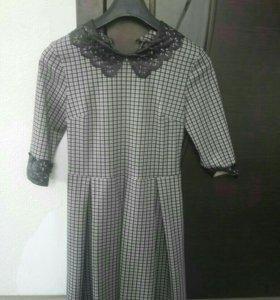 Продам платье офисное, б/у 1 раз, 44р