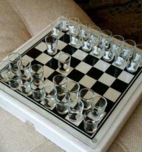 Шахматы и отдохнул и поиграл и выпил или обмен