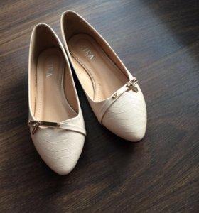 Балетки (туфли) новые