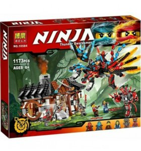 Конструктор Bela ninja аналог lego