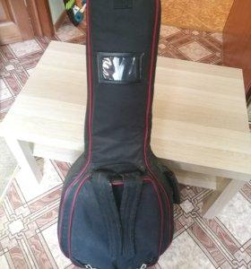 Чехол для гитары теплый