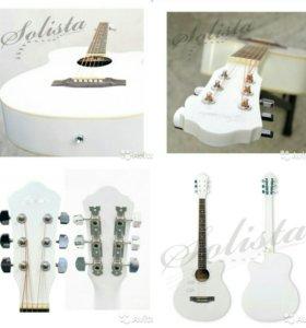 Новая акустическая гитара Solista SO 3910 WH