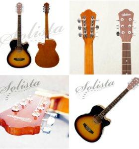 Новая акустическая гитара Solista SO 3910BS