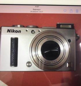 Фотоаппарат премиум Nikon Coolpix A Silver