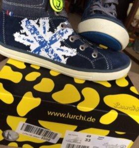 Новые весенне-летние ботинки lurchi BY salamander