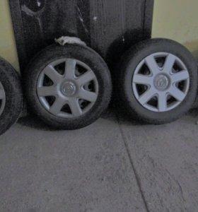 Комплект летних колес Mazda R15 5*114,3