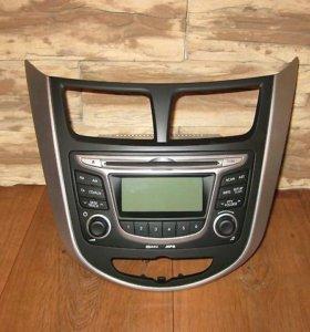 Hyundai Solaris магнитола
