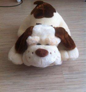 Игрушка-подушка собака