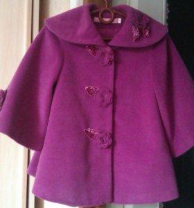 Весеннее детское пальто