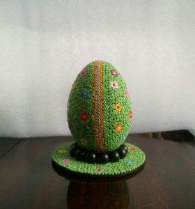 Продаётся Пасхальные яйца выложены Бисером