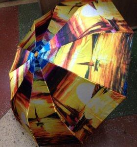 Зонт автомат новый