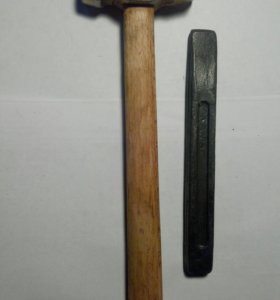 Набор молоток и зубило ссср