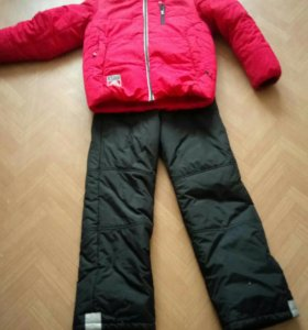 Зимняя куртка и комбинизон