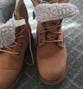 Timberland оригинал ботинки