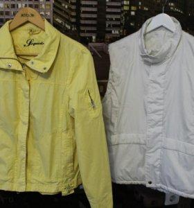 Ветровка куртка и жилетка