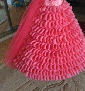 Платье для девочки , 7-8 лет