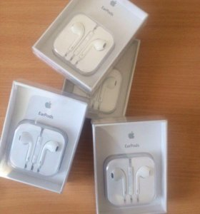 EarPods, наушники на айфон