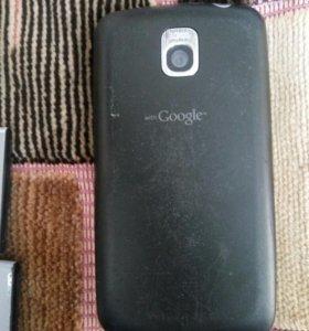 Телефон + батареи lg
