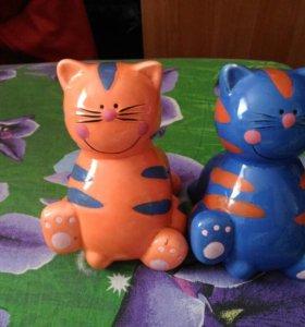 Копилки Кот и Кошка