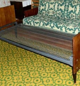 Кровать с панцерной сеткой