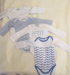 Детская одежда в идеальном состоянии (3-9 мес)