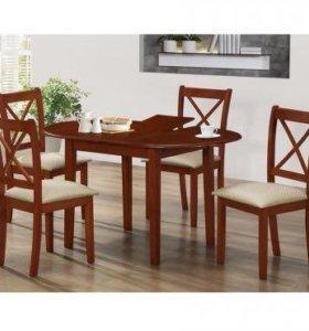 Новый стол со стульями!