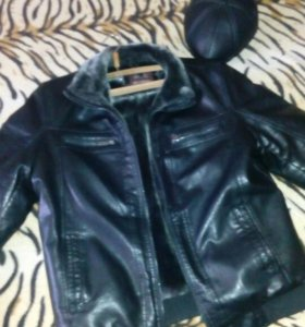 Куртка+кепка